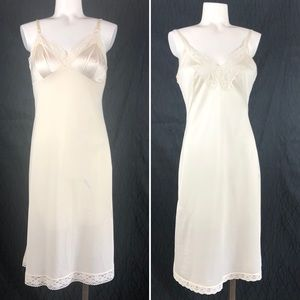 2 Ivory Full slips size 34 length 24""